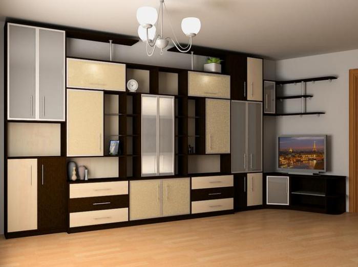 Нестандартная мебель для гостиной комнаты