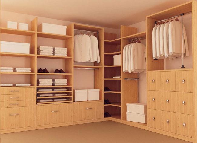 Нестандартные параметры гардероба