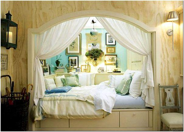 Невероятный дизайн спального ложе