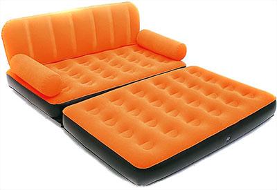 Новая модель надувного дивана