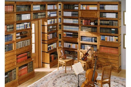 Обустройство кабинета с библиотекой