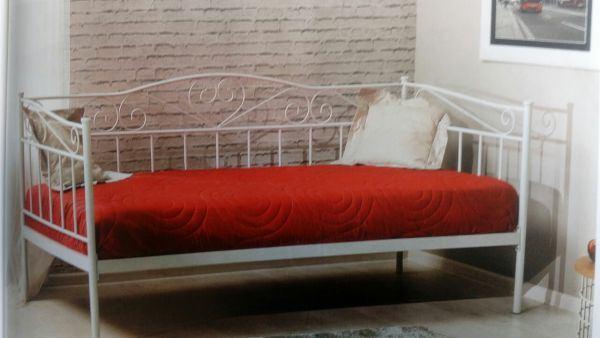 Односпальные кровати металлические