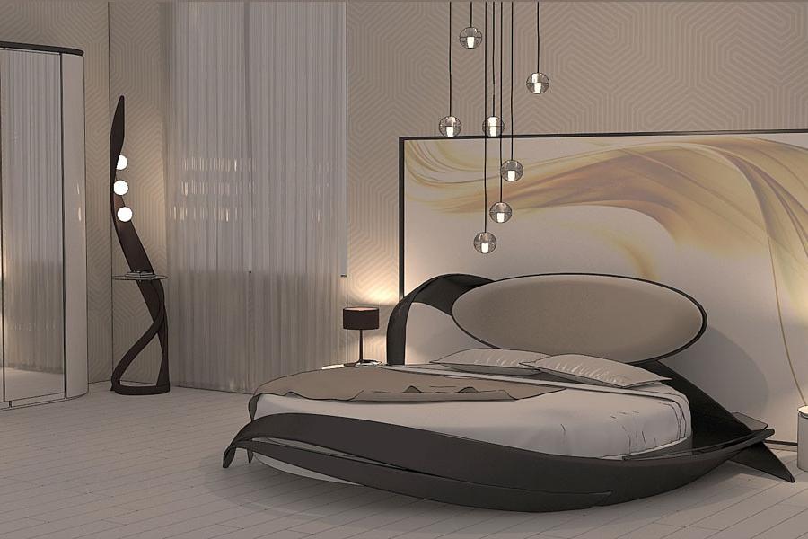 Оформление кровати