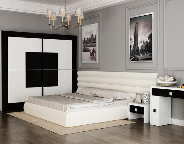 Огромные размеры кровати