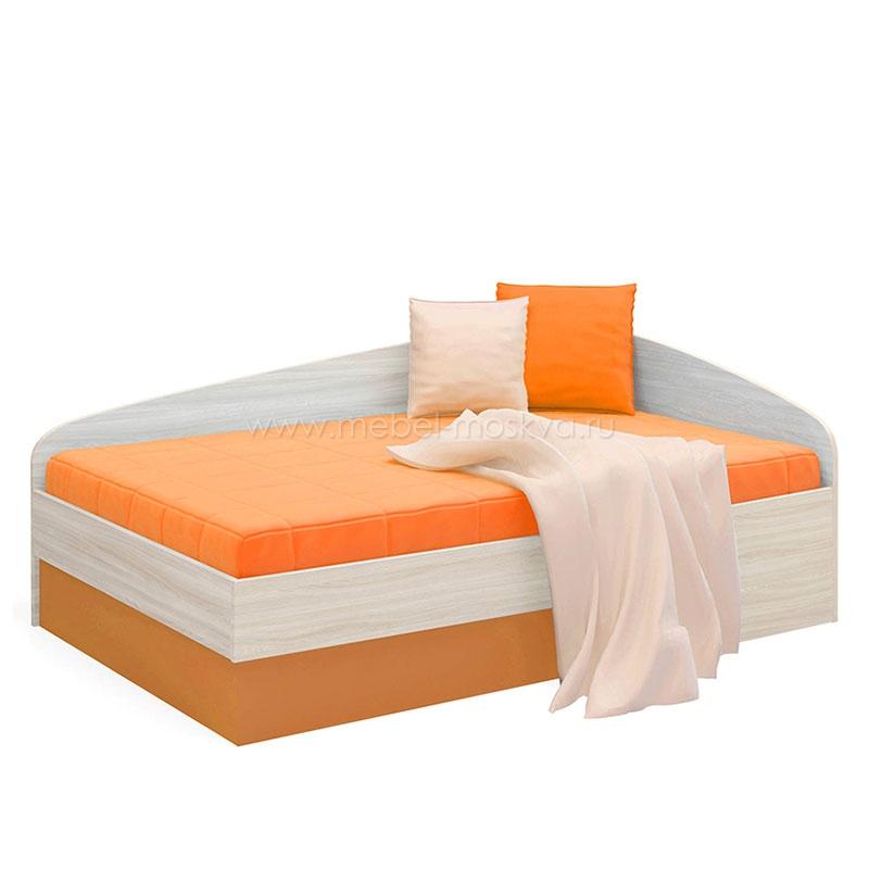 Оранжевая мягкая тахта