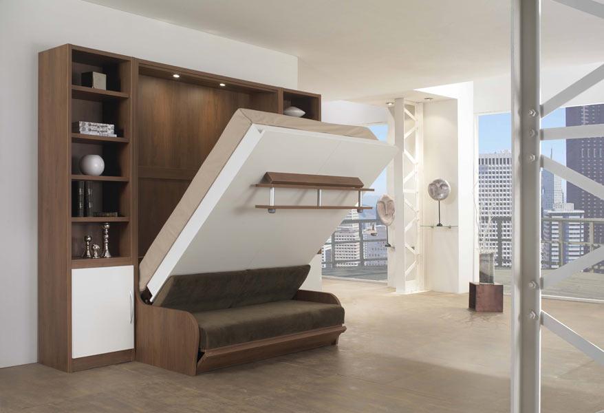 Откидной механизм современного спального ложе