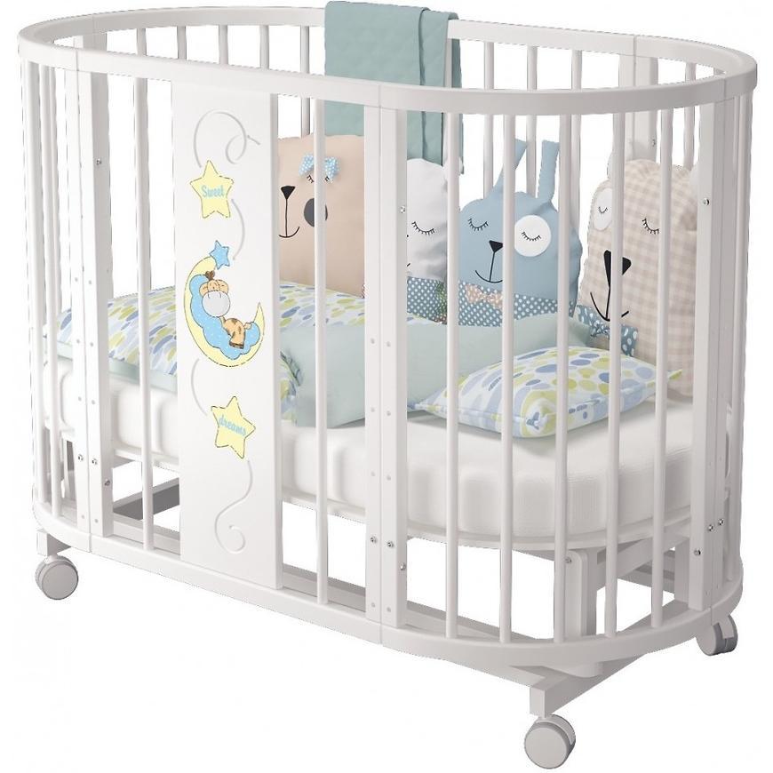Овальное спальное место для ребенка