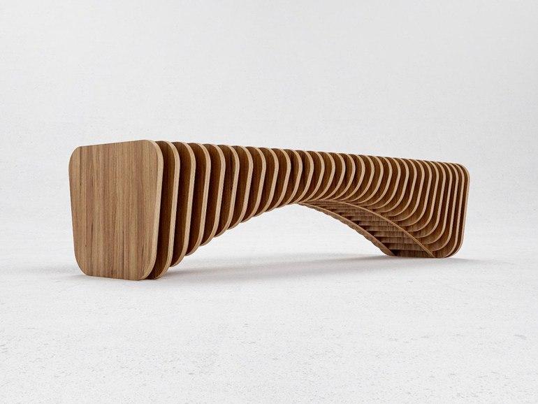 Параметрическая скамейка