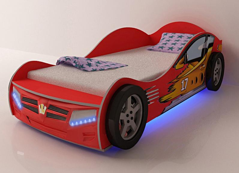 Подсветка корпусной детской мебели