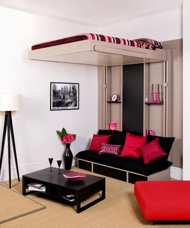 Подвесная французская кровать