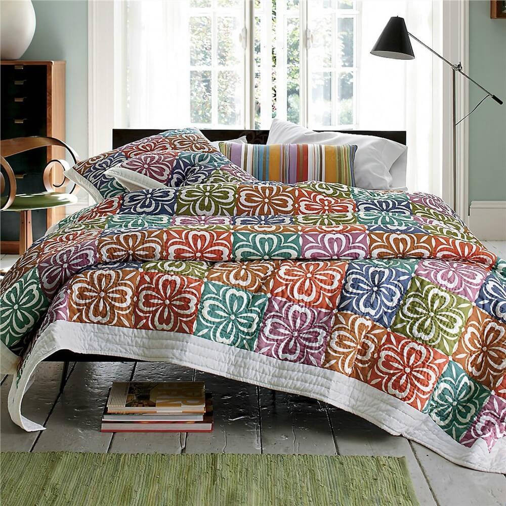 Покрывало на кровать в спальню - новинки дизайна