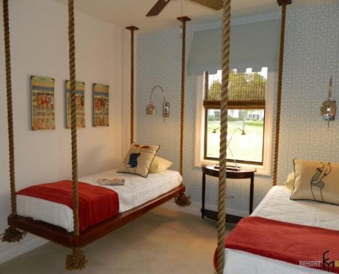 Потолочные подвесные кровати