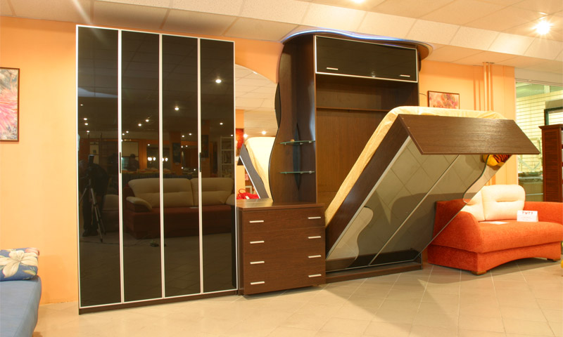 Преимущества встроенного типа мебели