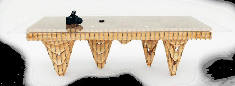 Пример мебели с оригинальными параметрами