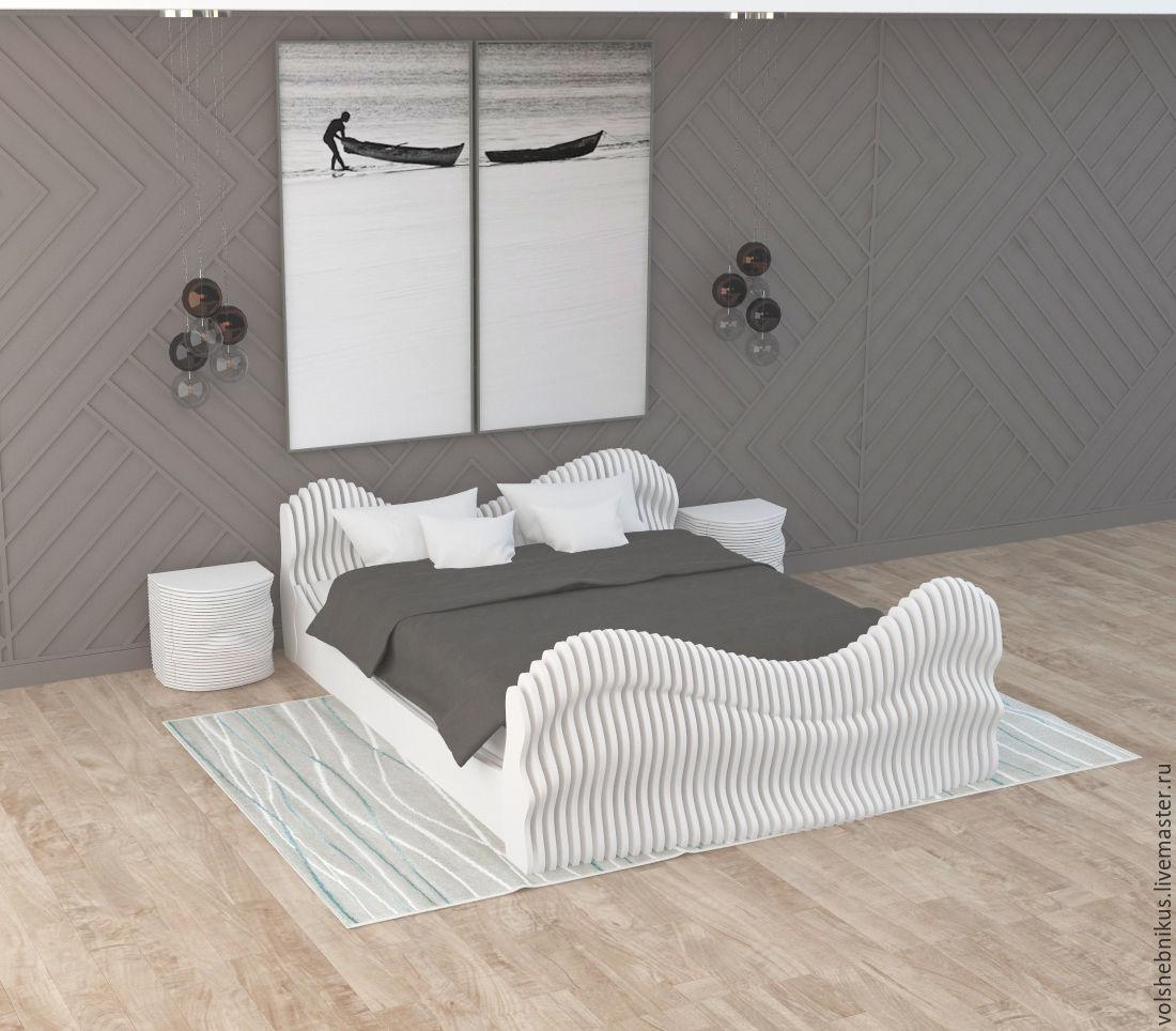 Проект необычной кровати для дома