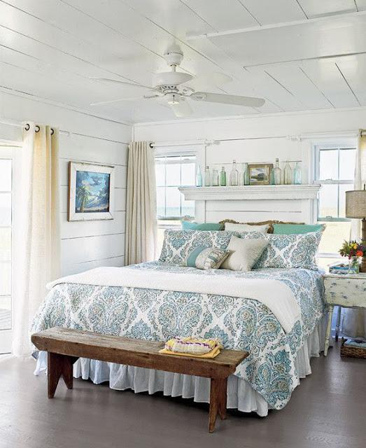 Простой и элегантный вариант мебели в стиле прованс