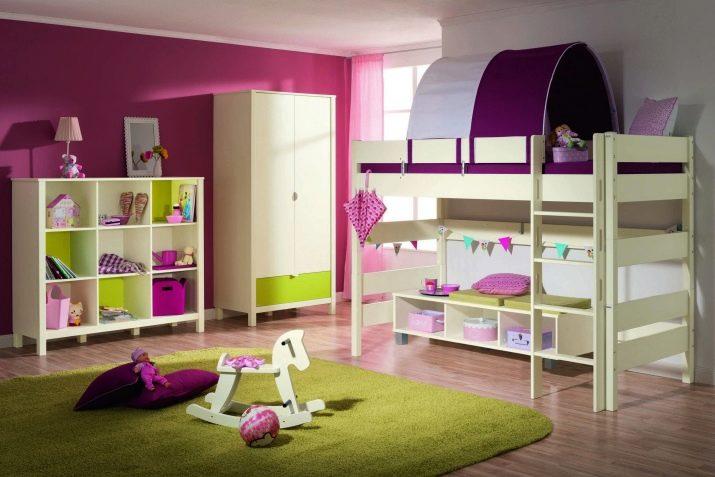 Просторная комната ребенка