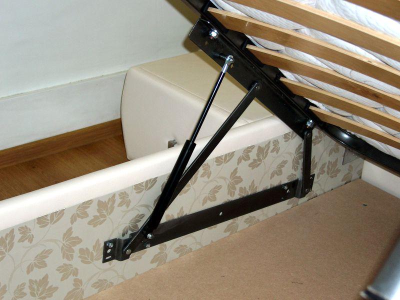 Пружинная система поднятия каркаса корпусной мебели
