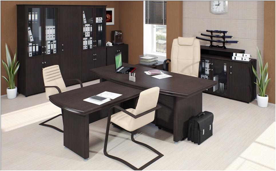 Рабочий кабинет, оформление