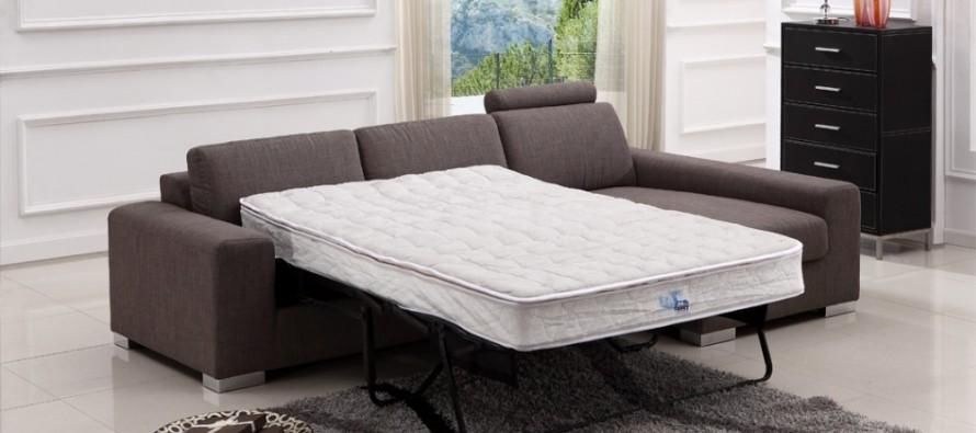 Раскладной современный диван