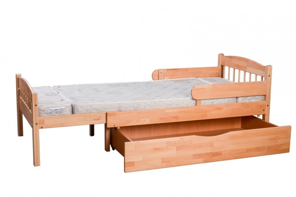 Растущая детская кровать для ребенка