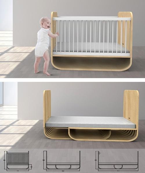 Растущая детская кровать