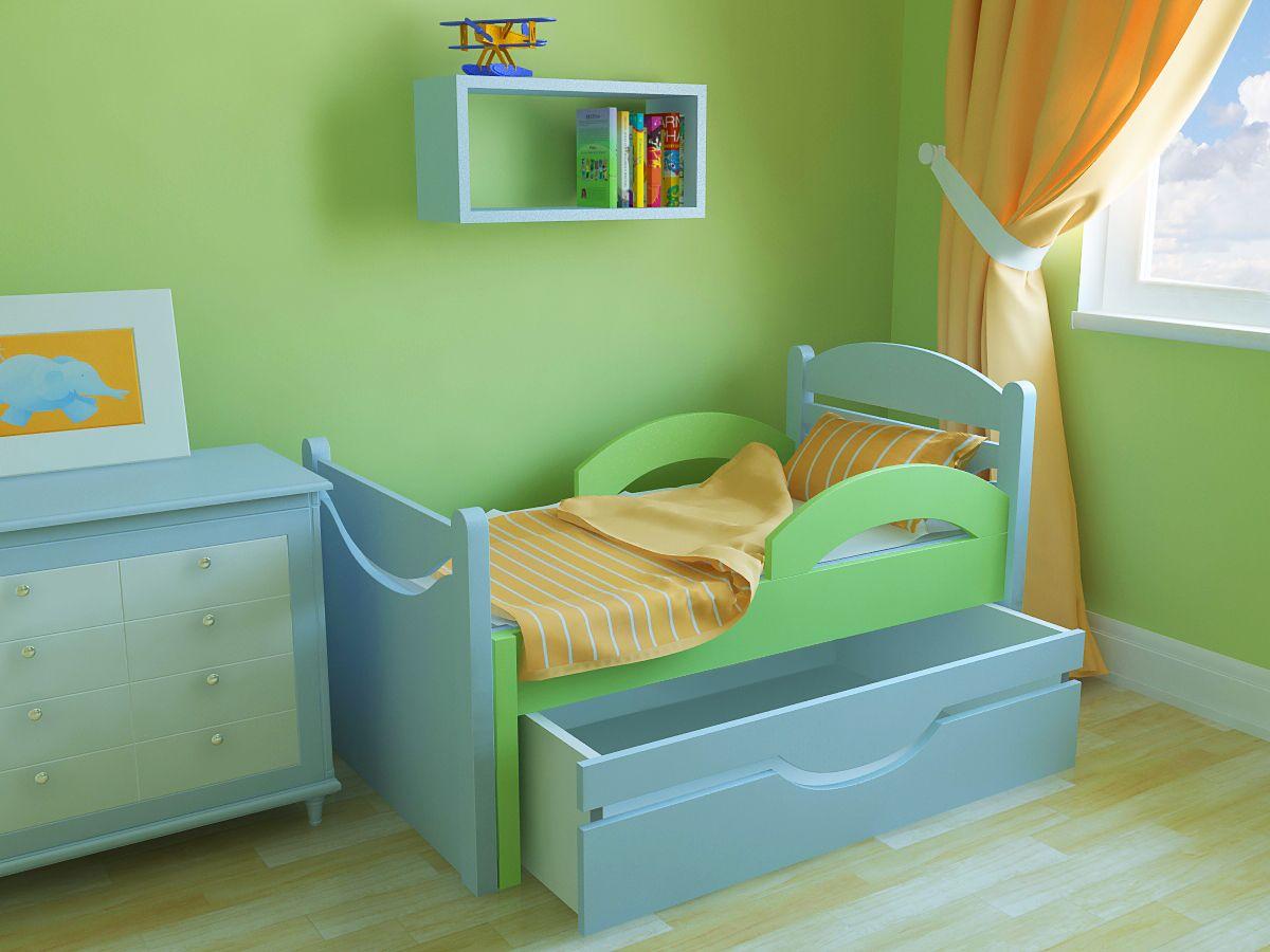 Растущая кроватка для ребенка