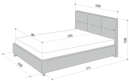 Размеры кровати для подростка (от 11 лет)