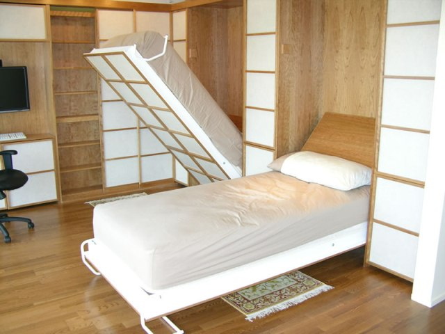 Ручная встраиваемая кровать