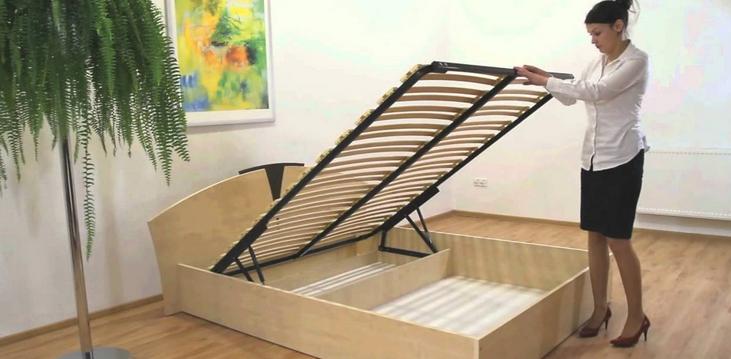 Ручной механизм для регулирования кровати