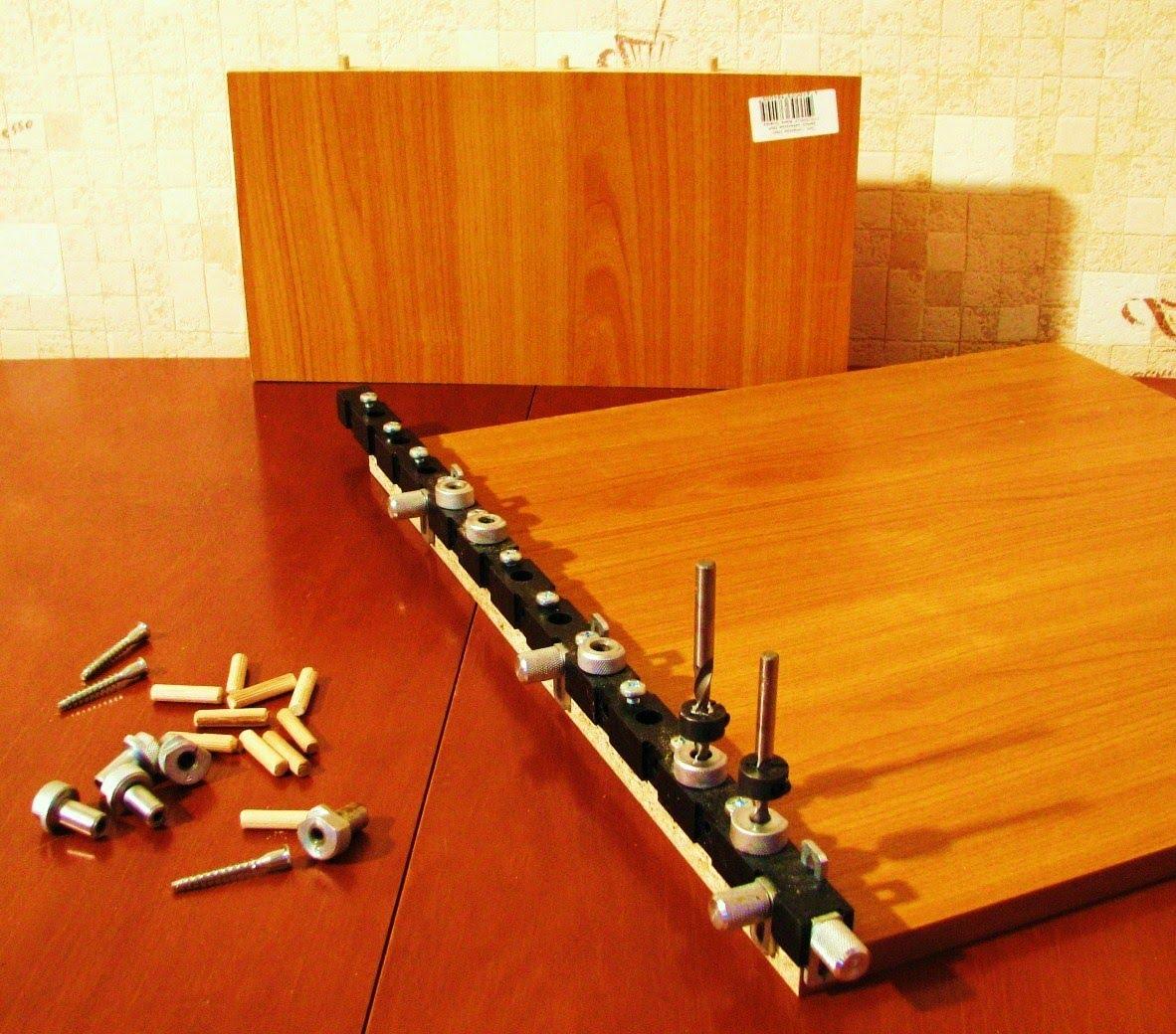 Шаблон-мебельный для сверления отверстий