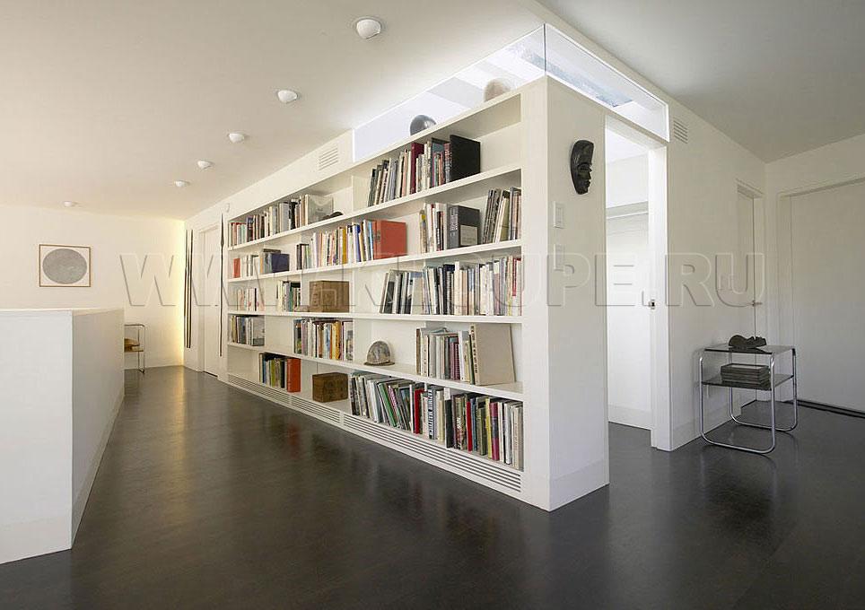Шкаф для книг встроенный