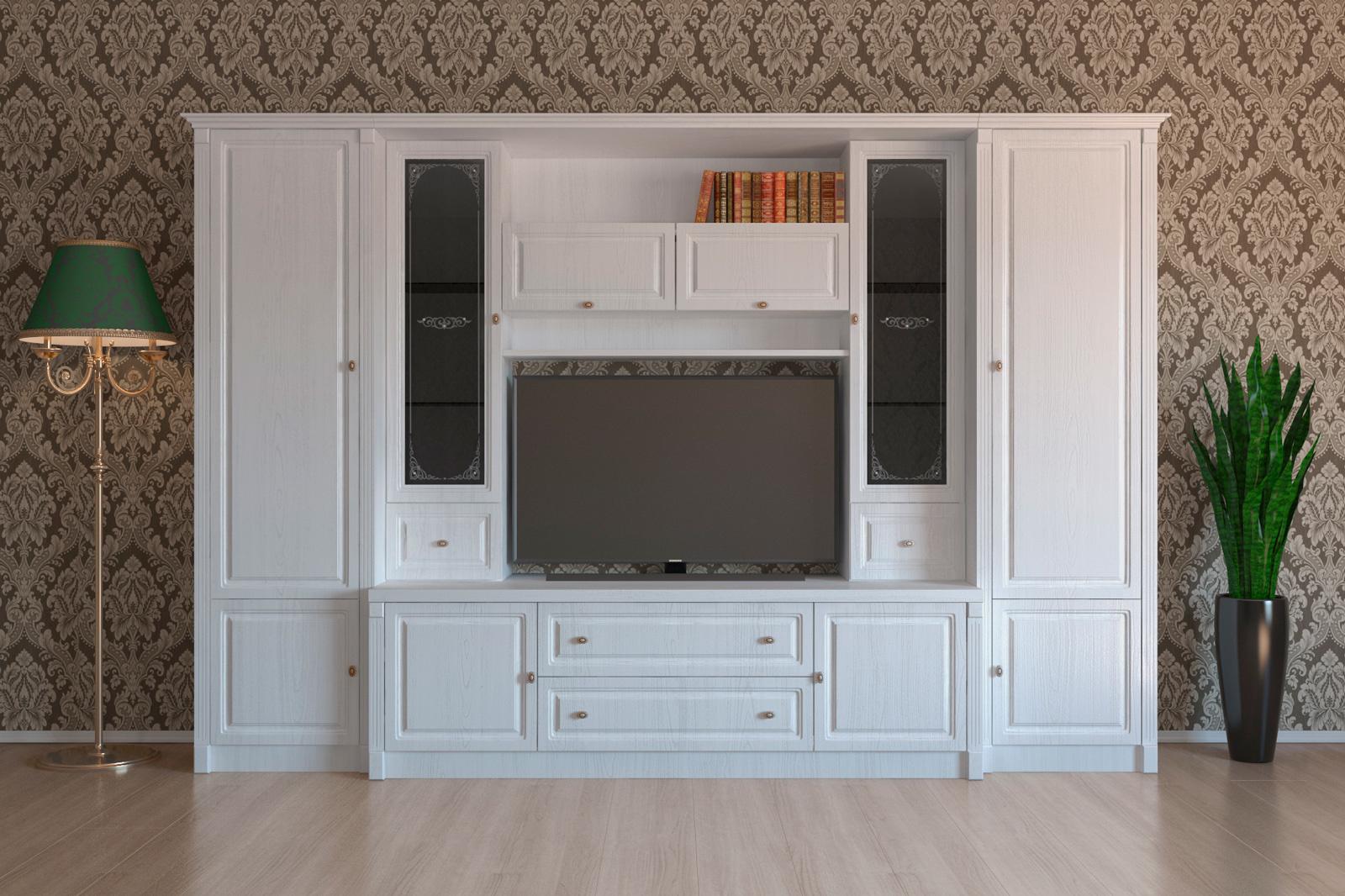 Шкаф под телевизор в гостиной