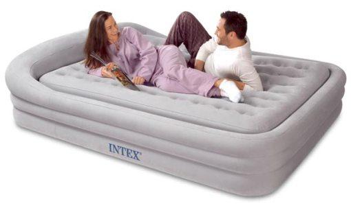 Съемный матрас современной кровати надувного типа