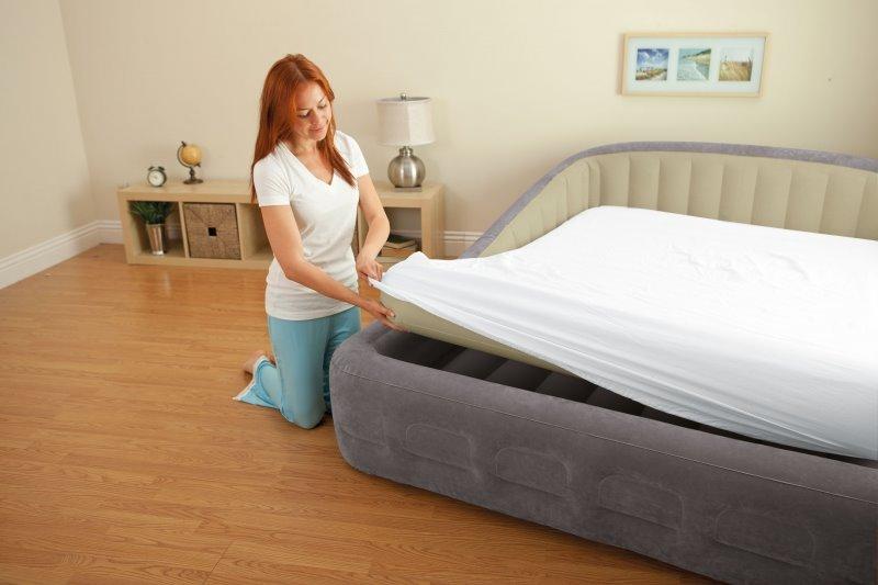 Съемный матрас современной надувной мебели