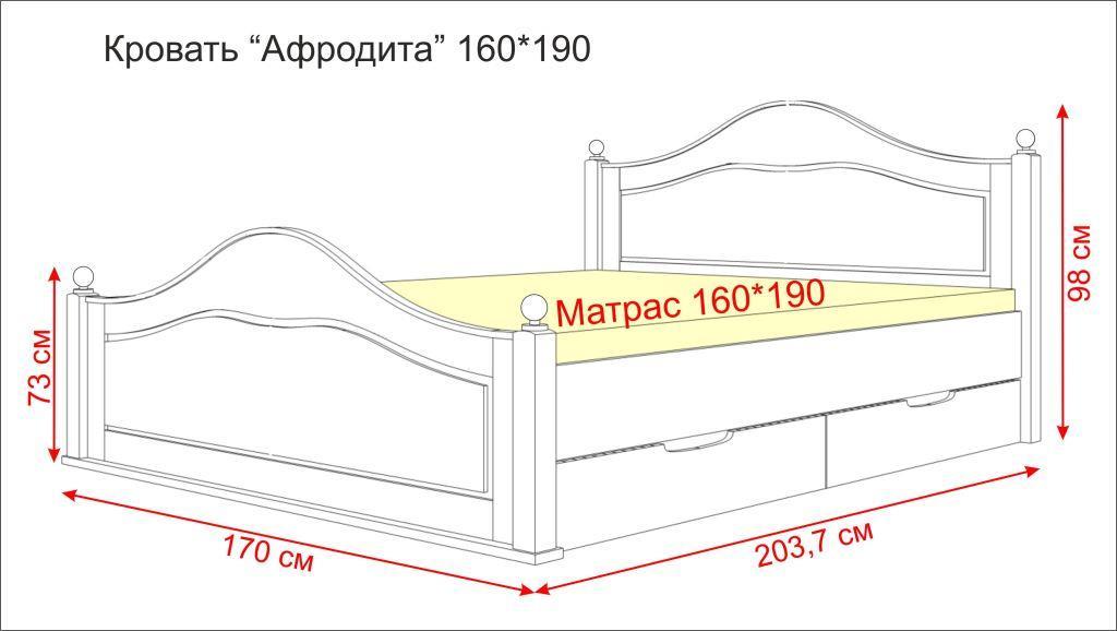 Схема кровати