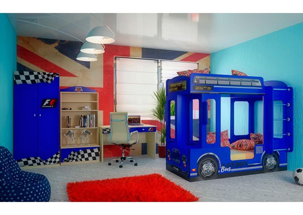 Синие цвета в интерьере помещения