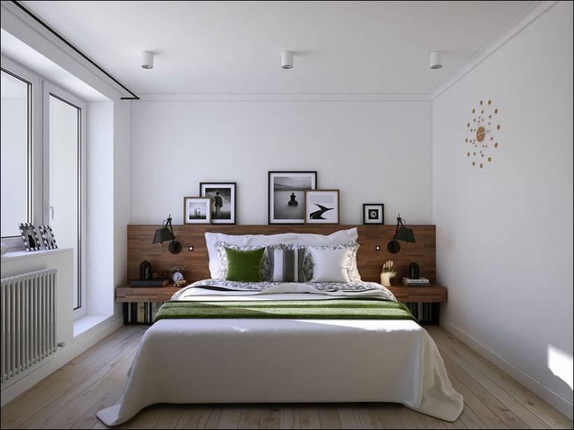 Скандинавский вариант дизайна кровати