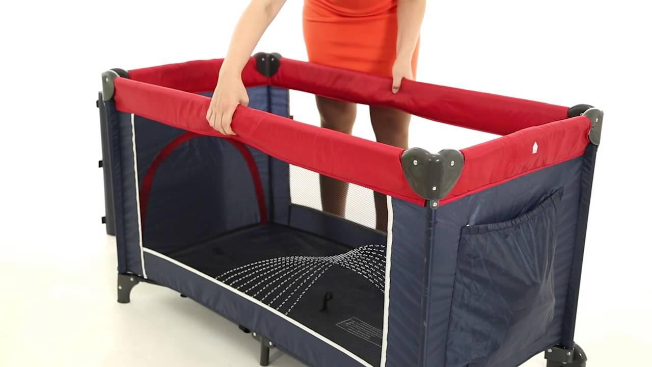 Складная кровать манеж