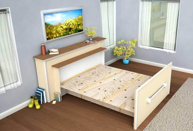 Складная кровать