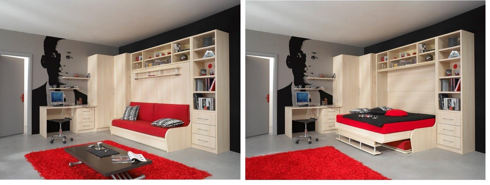 Скрытый вариант мебели для сна