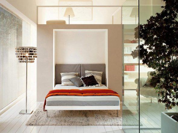Современная модель кровати