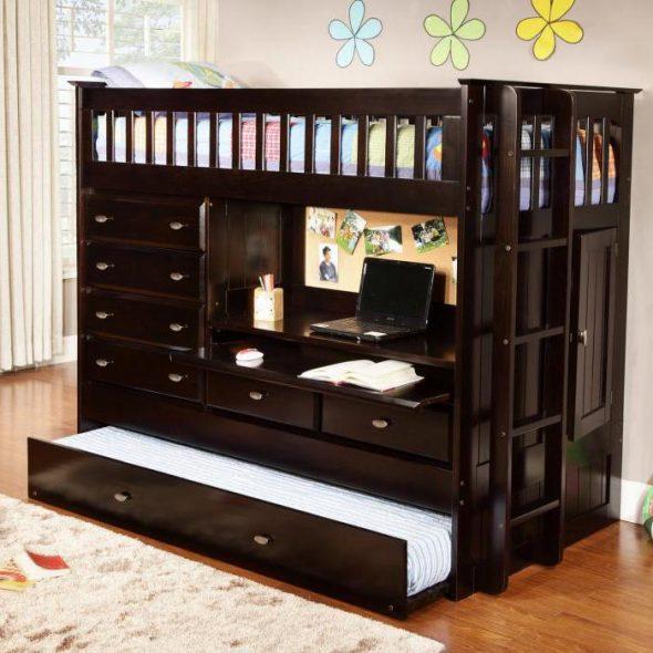 Современные детские предметы мебели