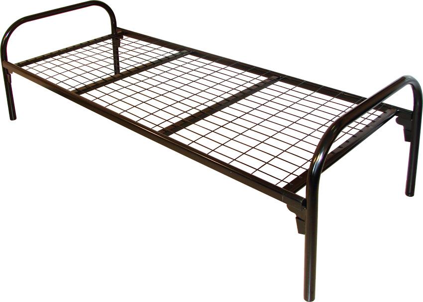 Современные металлические двуспальные кровати