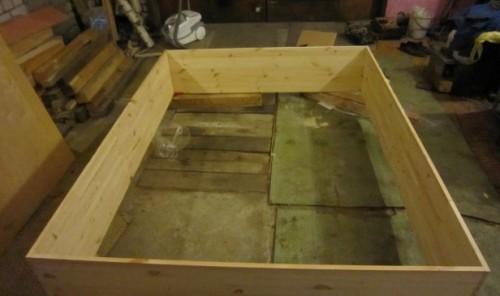 Создаем раму корпусной мебели