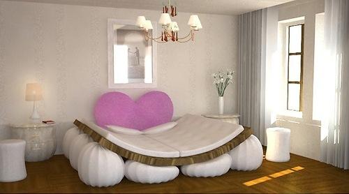 Спальное ложе для влюбленных
