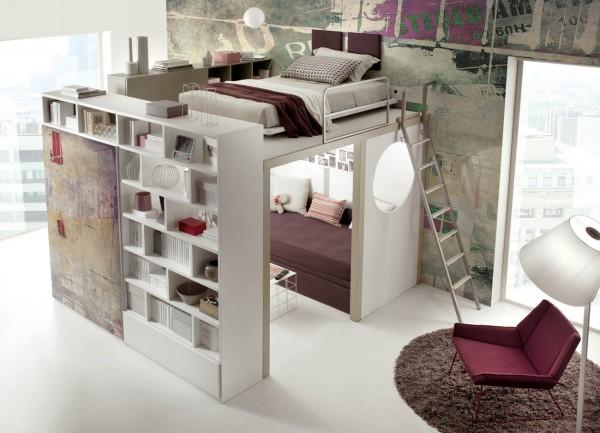 Способы скрыть мебель в спальне