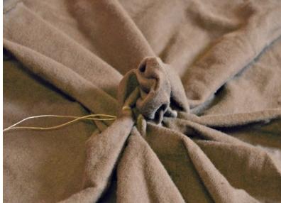 Сшиваем круг ткани