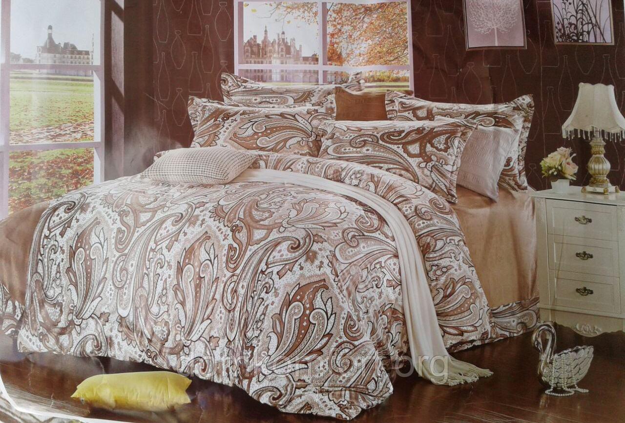 Стеганное велюровое покрывало на кровать