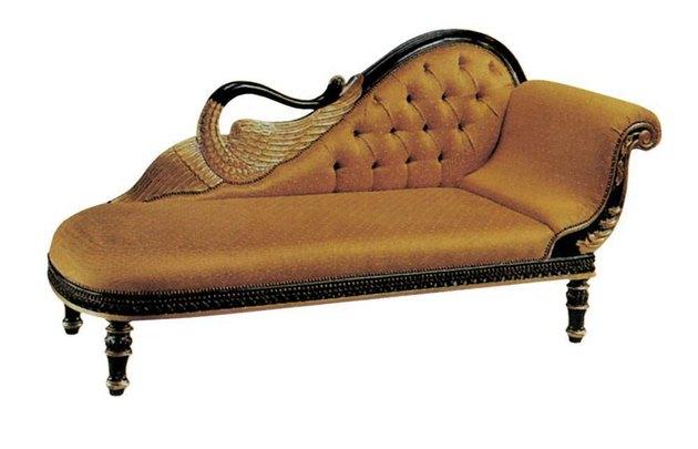 Стиль ампир привнес в мебельный мир новые типы и формы мебели